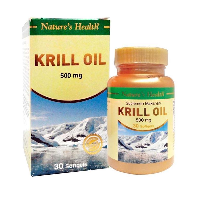 Nature's Health Krill Oil Multivitamin [30 Softgels]