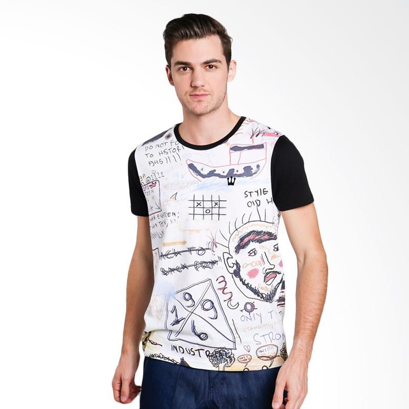3SECOND 1612 Men Tshirt - Black