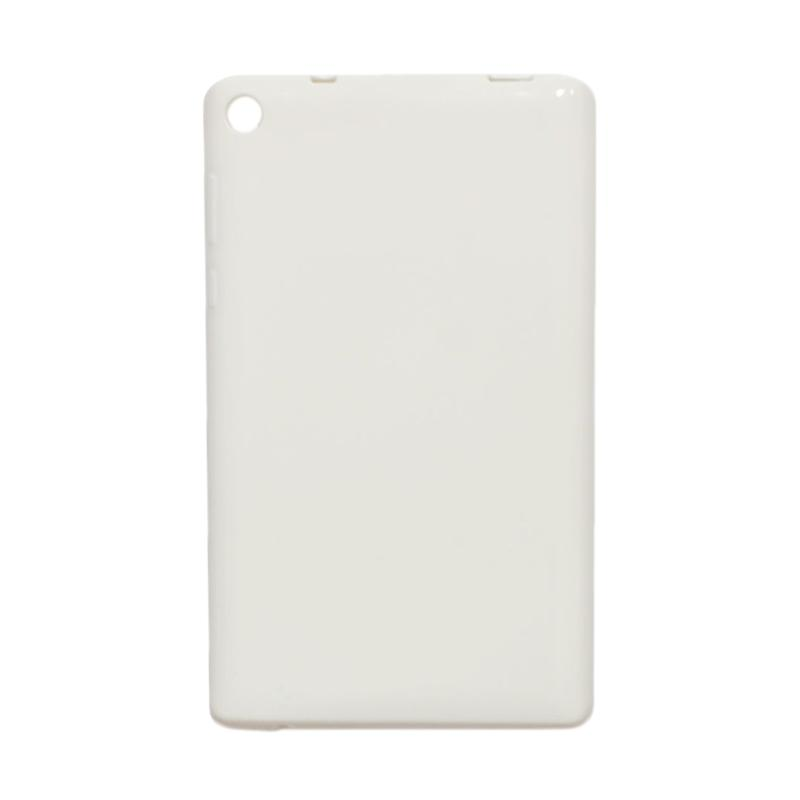 QCF Softcase Tablet Lenovo Tab 3 710L Silicone Casing for Lenovo Tab 3 7.0 Inch 710L - Putih