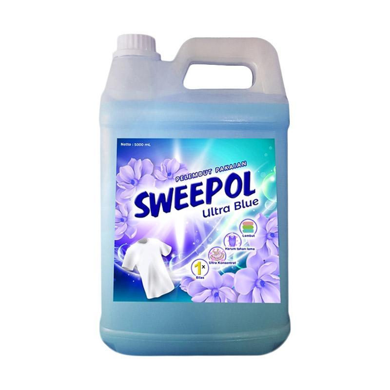 Sweepol Softener Ultra Blue Pelembut Pakaian