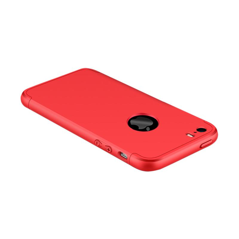 OEM 360 Full Protective 3in1 Hardcase Casing for iPhone 5 - Red