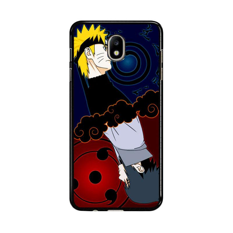 Flazzstore Naruto And Sasuke Z0739 Custom Casing for Samsung Galaxy J7 Pro 2017