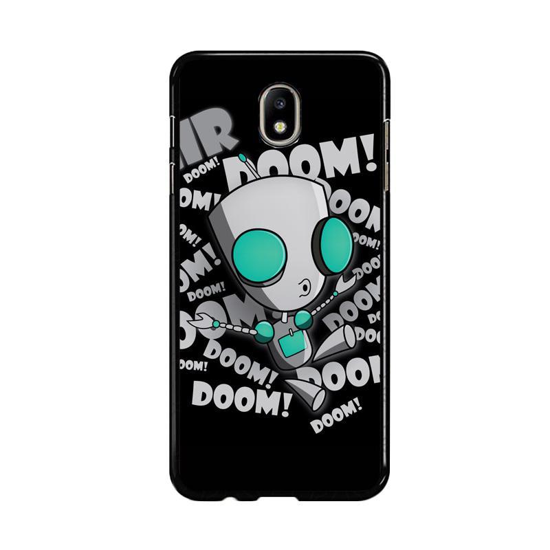 Flazzstore Invader Zim Gir Doom Song Z0621 Custom Casing for Samsung Galaxy J5 Pro 2017
