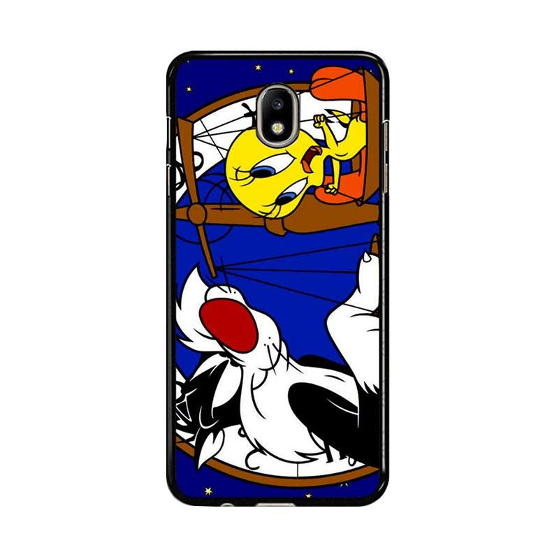 Flazzstore Tweety Bird And Sylvester Z0761 Custom Casing for Samsung Galaxy J7 Pro 2017