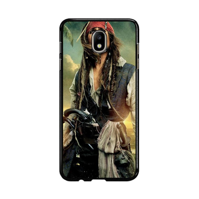 Flazzstore Captain Jack Sparrow F0344 Custom Casing for Samsung Galaxy J7 Pro 2017