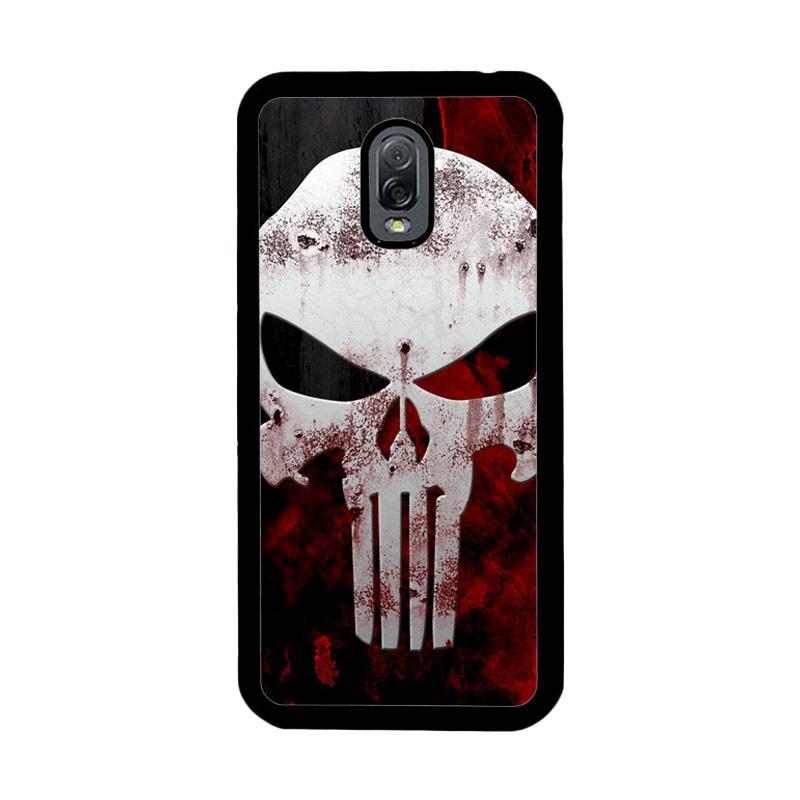 Flazzstore Marvel Superhero Punisher Logo Z0505 Custom Casing for Samsung Galaxy J7 Plus