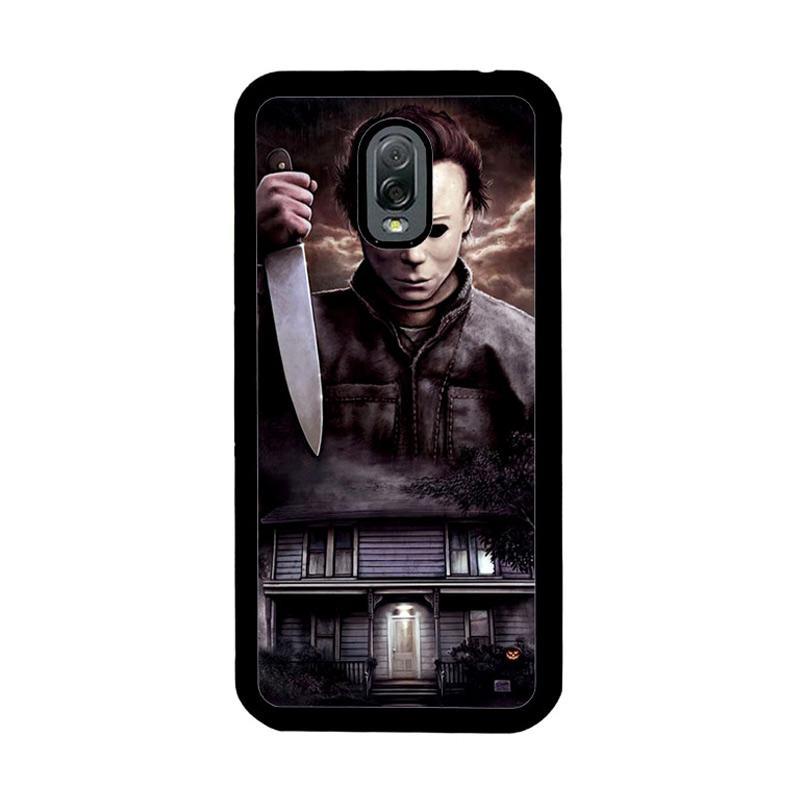Flazzstore Michael Myers Halloween Z1319 Custom Casing for Samsung Galaxy J7 Plus