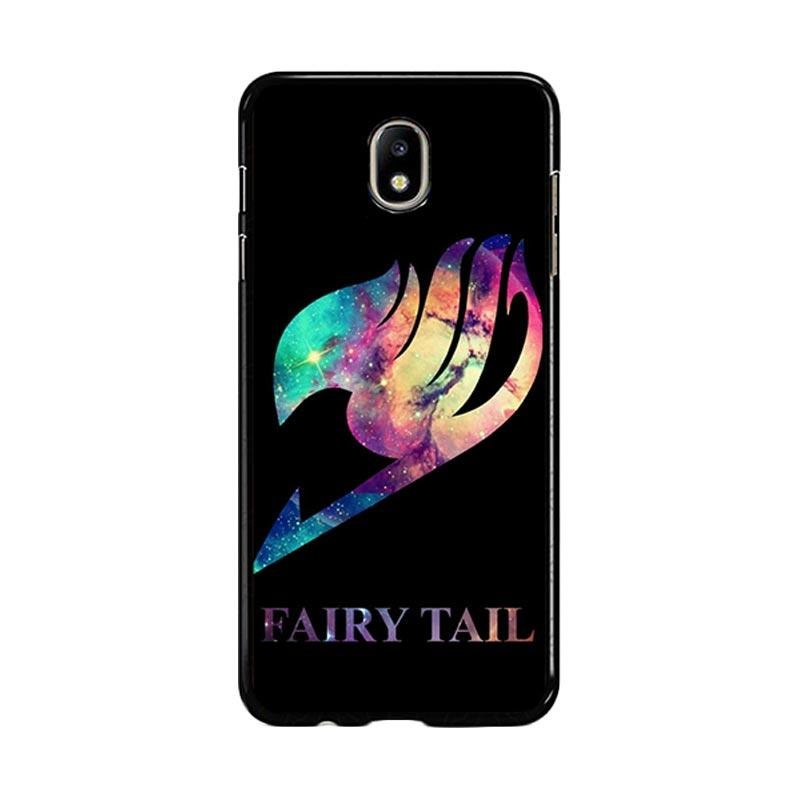 Flazzstore Fairy Tail Logo Galaxy Space Z0172 Custom Casing for Samsung Galaxy J7 Pro 2017