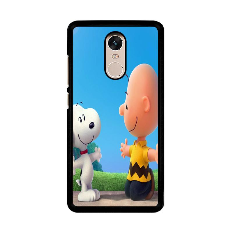 Flazzstore Peanuts  Movie Z0850 Custom Casing for Xiaomi Redmi Note 4 Note 4X Snapdragon Mediatek