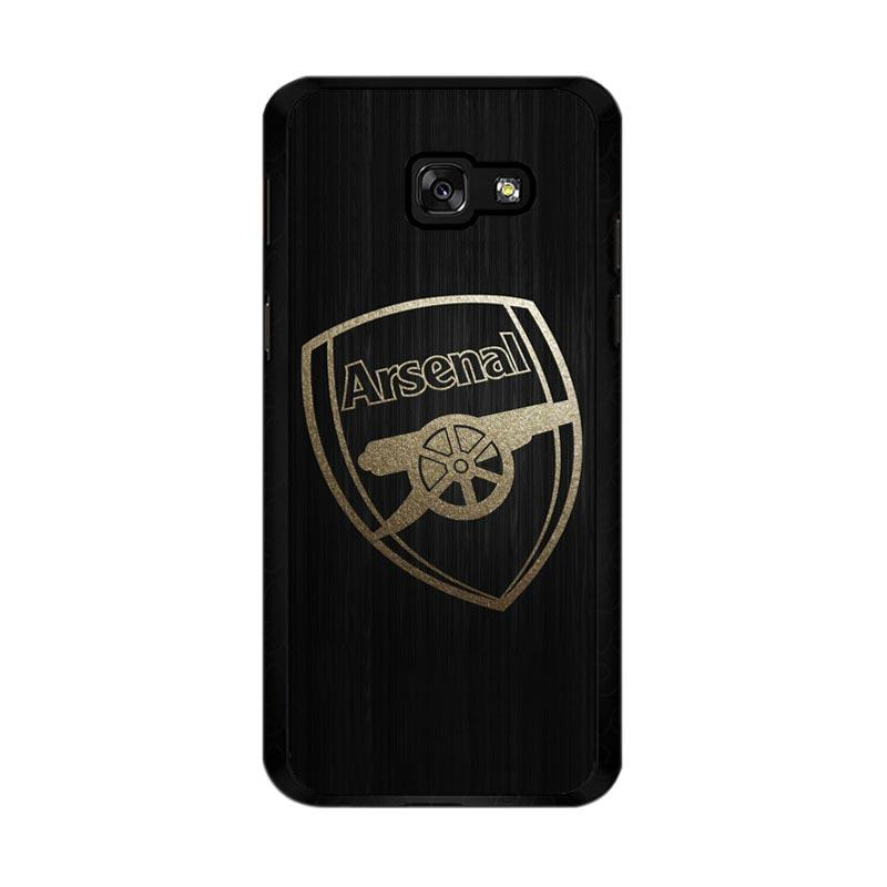 Flazzstore Arsenal Logo Gold O0487 Custom Casing for Samsung Galaxy A5 2017