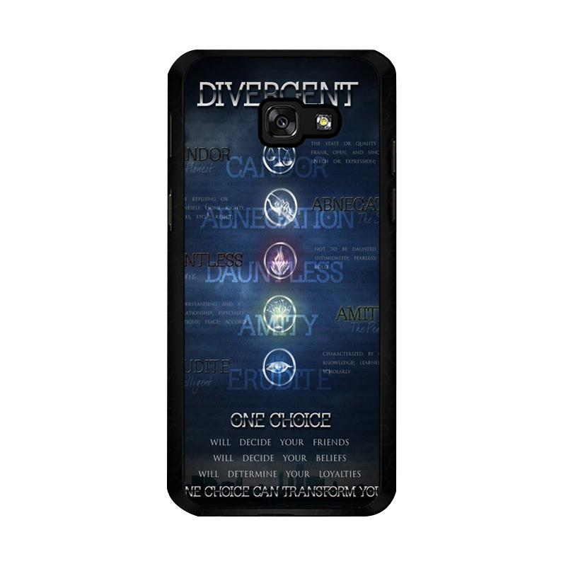 Divergent Faction Symbols Z0694 Custom Casing for Samsung Galaxy A5 2017