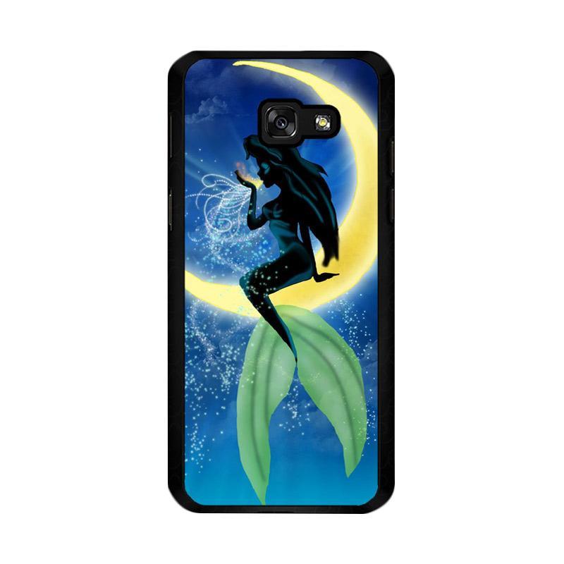 Flazzstore Disney Ariel The Little Mermaid Moon Z0722 Custom Casing for Samsung Galaxy A5 2017