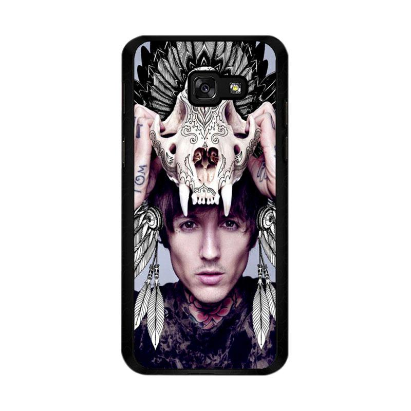 Flazzstore Oliver Sykes Skull Head Z0275 Custom Casing for Samsung Galaxy A5 2017