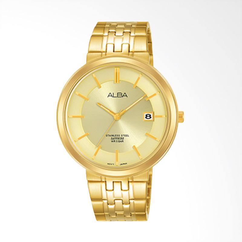 Alba Jam Tangan Pria - Gold [AS9D74X1]