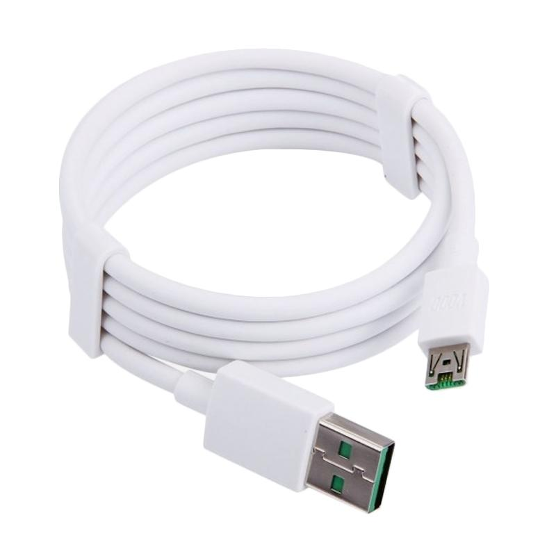 OPPO VOOC Flashing USB Data Cable - White