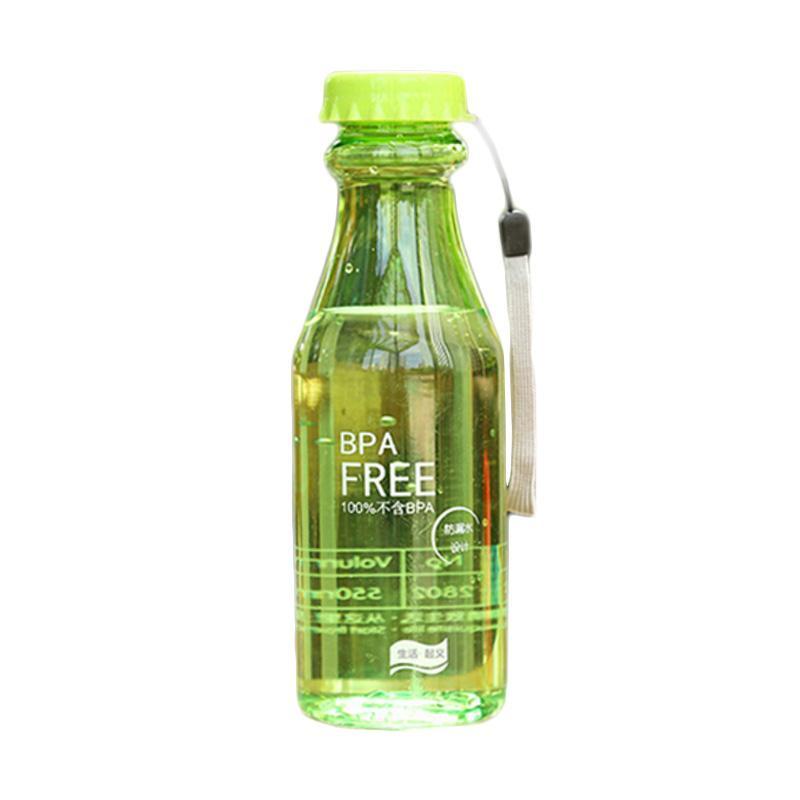 Hariku Botol Minum - Hijau [550 mL]