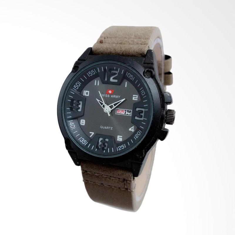 Swiss Army Jam Tangan Pria - Grey [SA004GW]