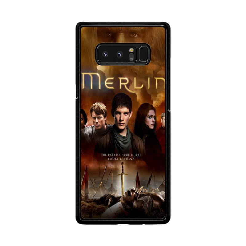 Flazzstore Merlin Fantasy Adventure Television Z0556 Custom Casing for Samsung Galaxy Note 8