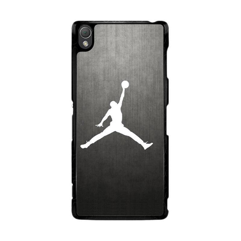 Flazzstore Air Jordan Black Texture O0621 Custom Casing for Sony Xperia Z3