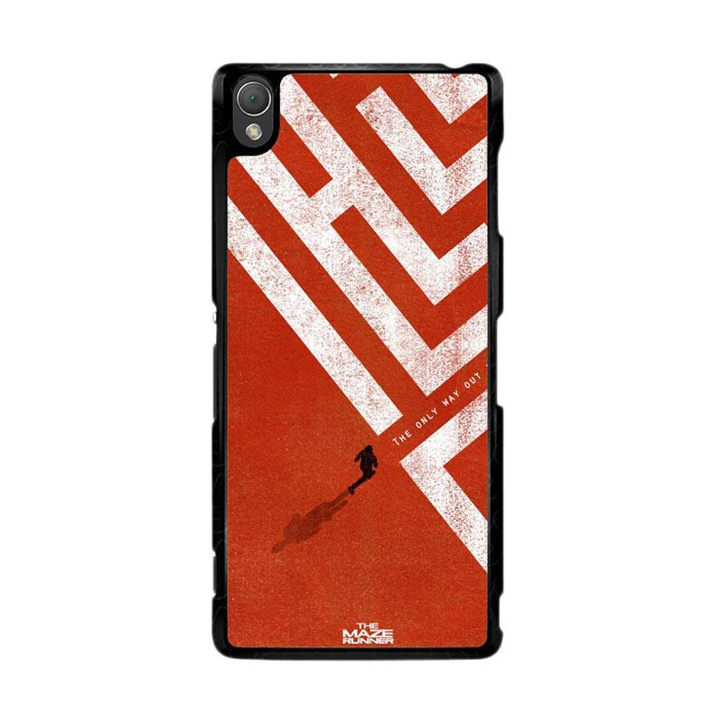 Flazzstore The Maze Runner The Only Way Out Is Within Z0695 Custom Casing for Sony Xperia Z3