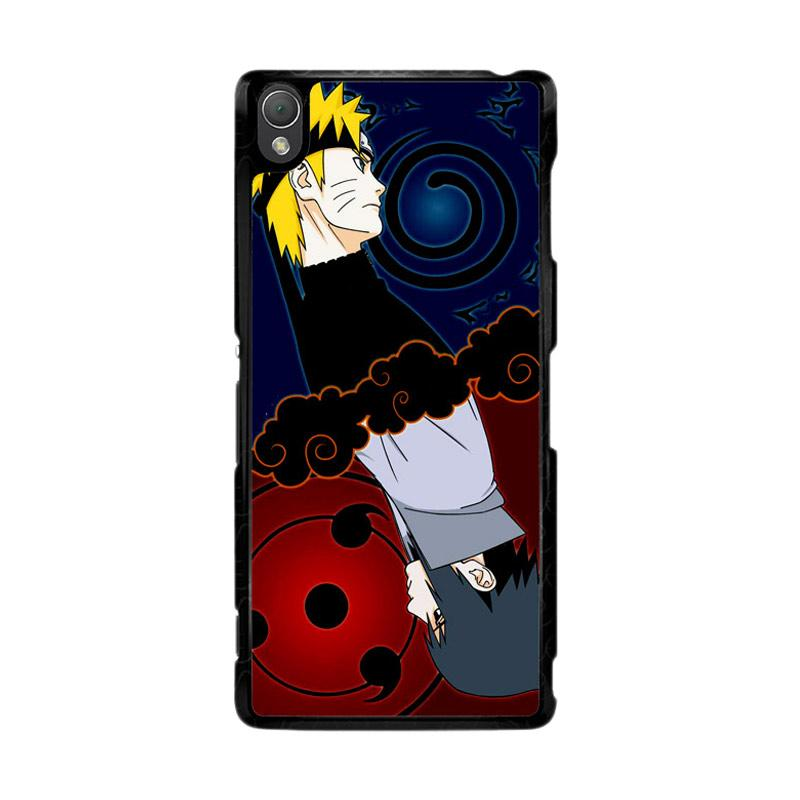 Flazzstore Naruto And Sasuke Z0739 Custom Casing for Sony Xperia Z3