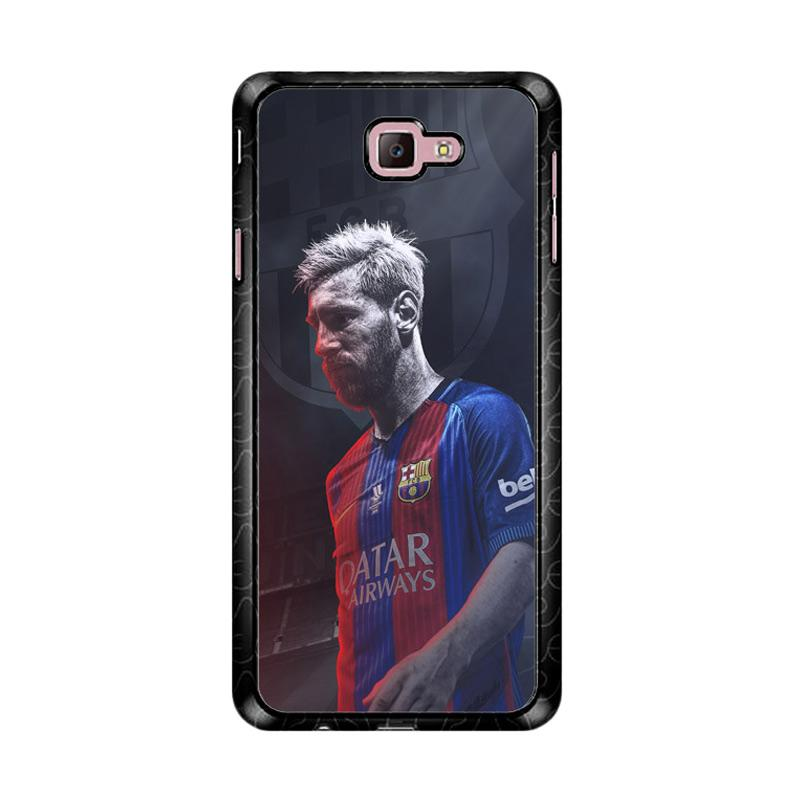 Flazzstore Lionel Messi Z4873 Custom Casing for Samsung Galaxy J7 Prime