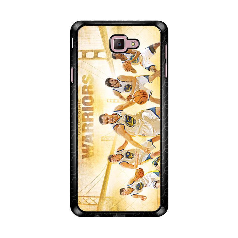 Flazzstore Nba Playoffs Golden State Warriors Z4906 Custom Casing for Samsung Galaxy J7 Prime