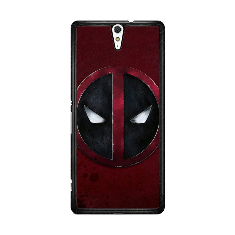 Flazzstore Deadpool Logo O0157 Custom Casing for Sony Xperia C5 Ultra