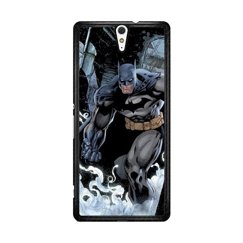 Flazzstore Batman 2 O0191 Custom Casing for Sony Xperia C5 Ultra