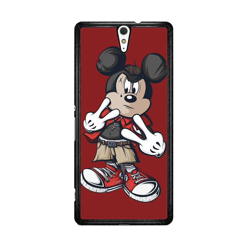Flazzstore Mickey Mouse O0317 Custom Casing for Sony Xperia C5 Ultra
