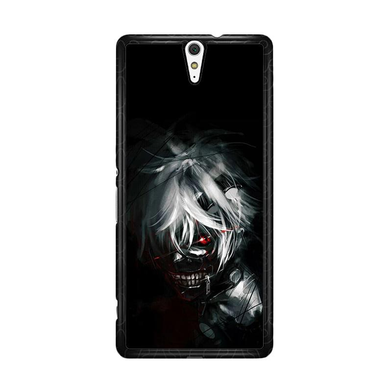 Flazzstore Tokyo Ghoul Kaneki O0423 Custom Casing for Sony Xperia C5 Ultra