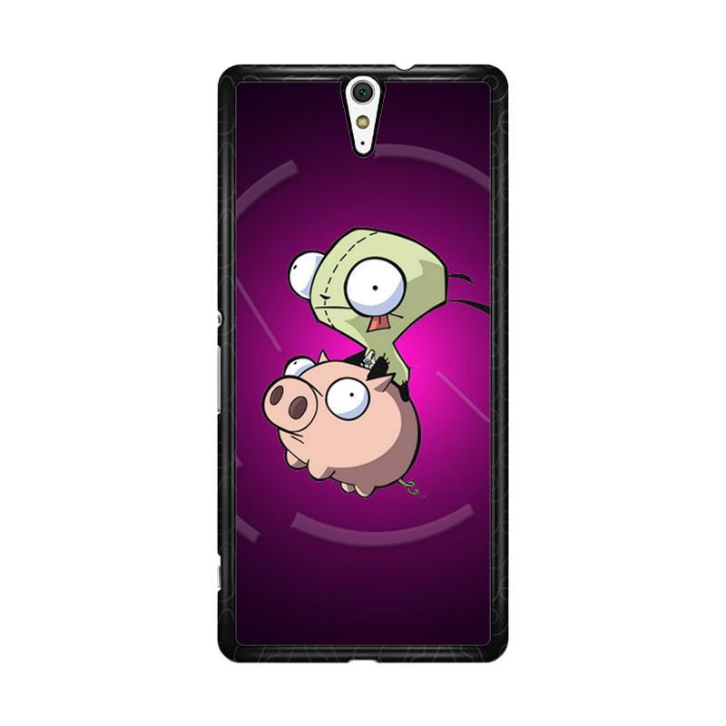 Flazzstore Invader Zim Gir Piggy Z0620 Custom Casing for Sony Xperia C5 Ultra