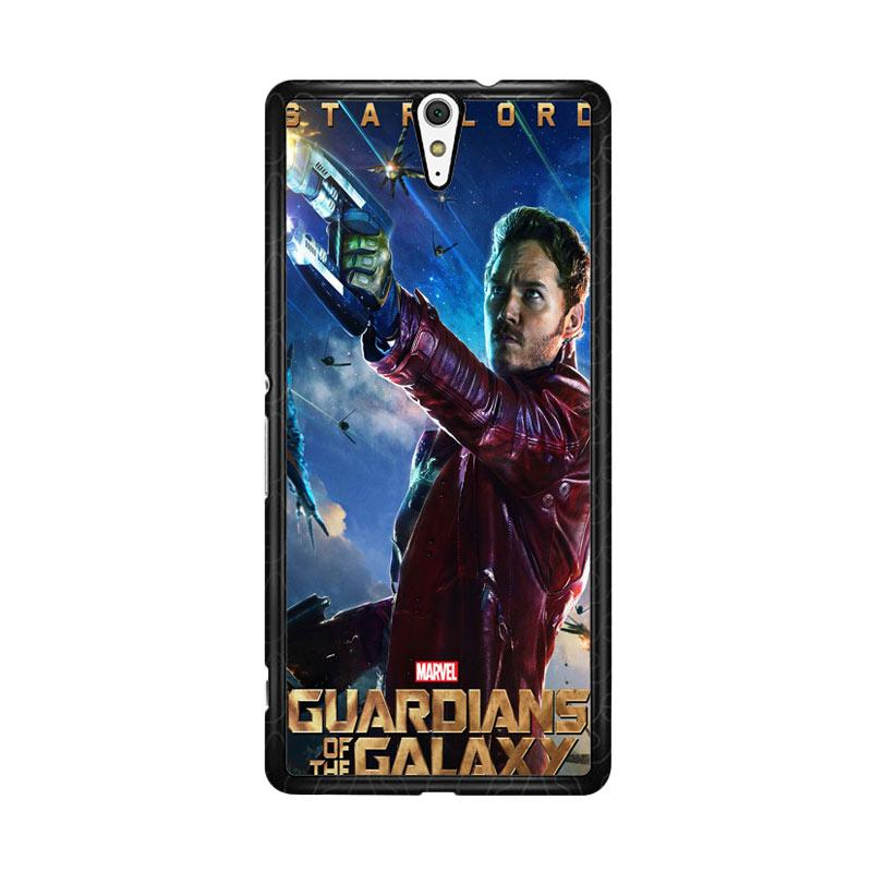 Flazzstore Guardians Of The Galaxy Star Lord Z0691 Custom Casing for Sony Xperia C5 Ultra