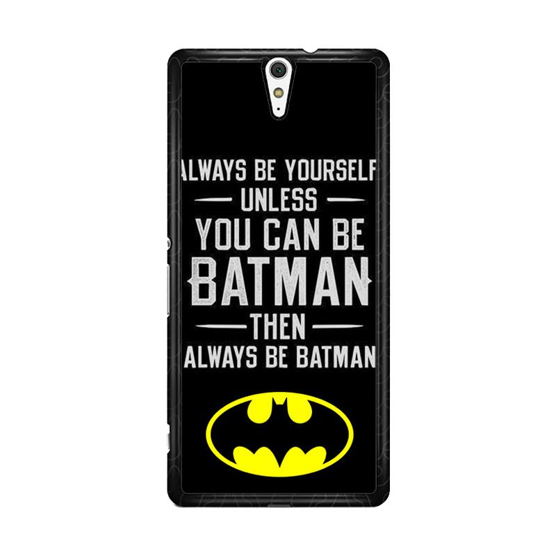 Flazzstore Batman Quote F0320 Custom Casing for Sony Xperia C5 Ultra