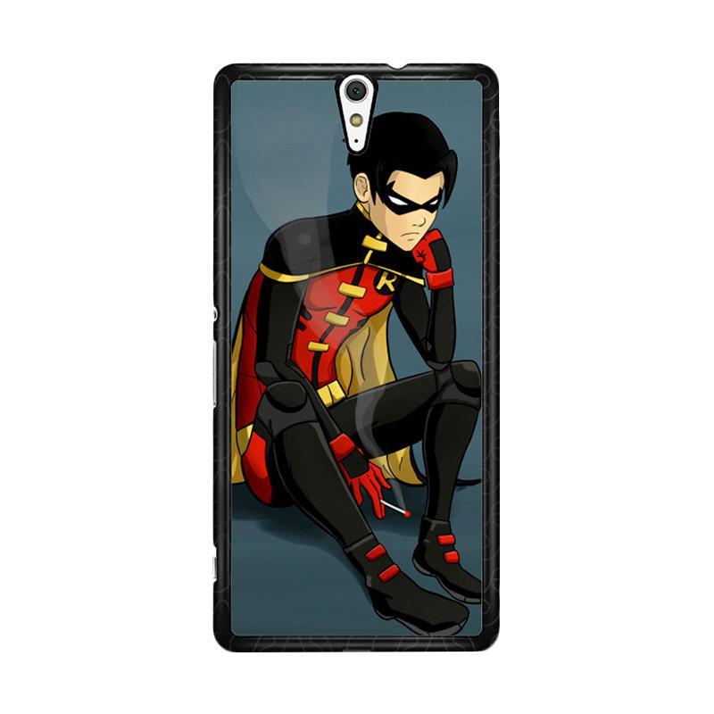 Flazzstore Robin Superhero Z0306 Custom Casing for Sony Xperia C5 Ultra