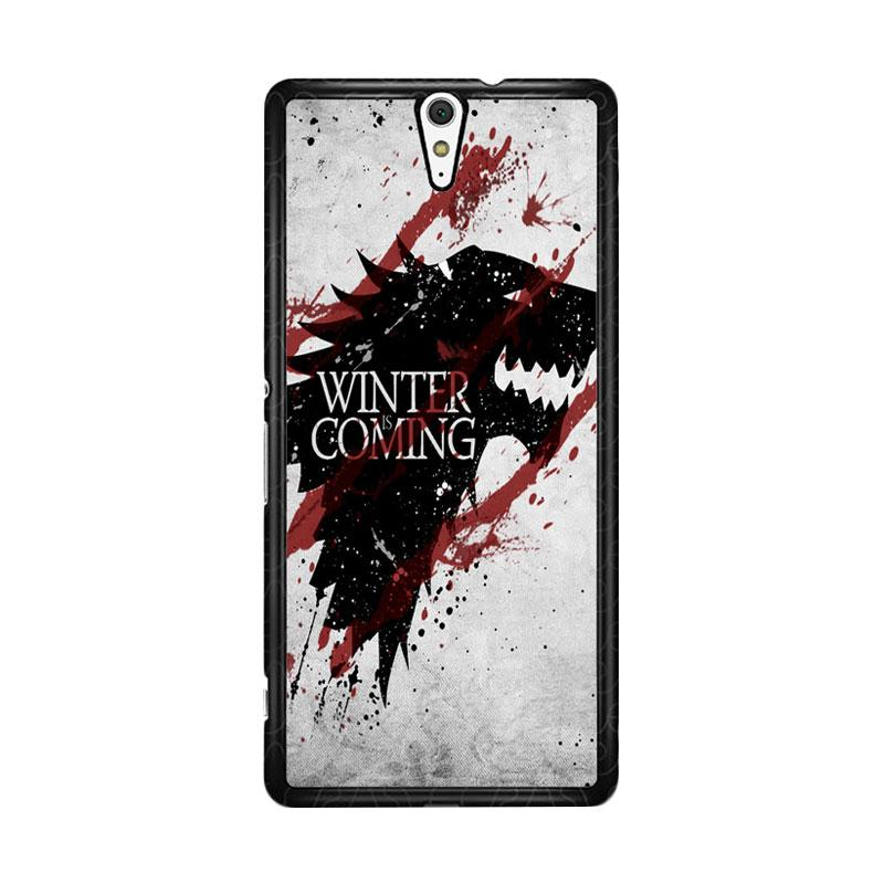 Flazzstore Winter Is Coming House Stark Logo Z0308 for Sony Xperia C5 Ultra