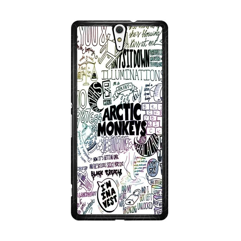 Flazzstore Arctic Monkeys Band Lyrics Quote Z0914 Custom Casing for Sony Xperia C5 Ultra
