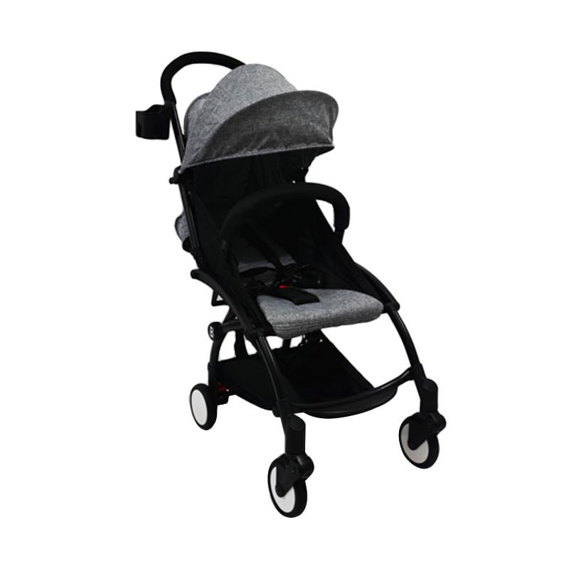 Chris & Olins Clever Pushchair Stroller Bayi - Grey
