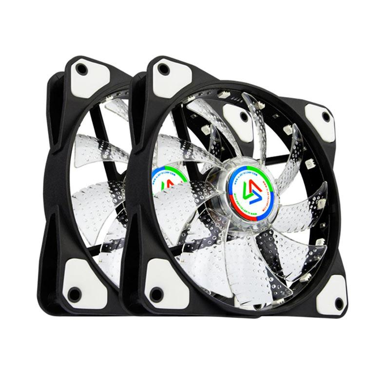 Alseye Caselight CLS-200 Casing Fan with Infrared Control RGB - White