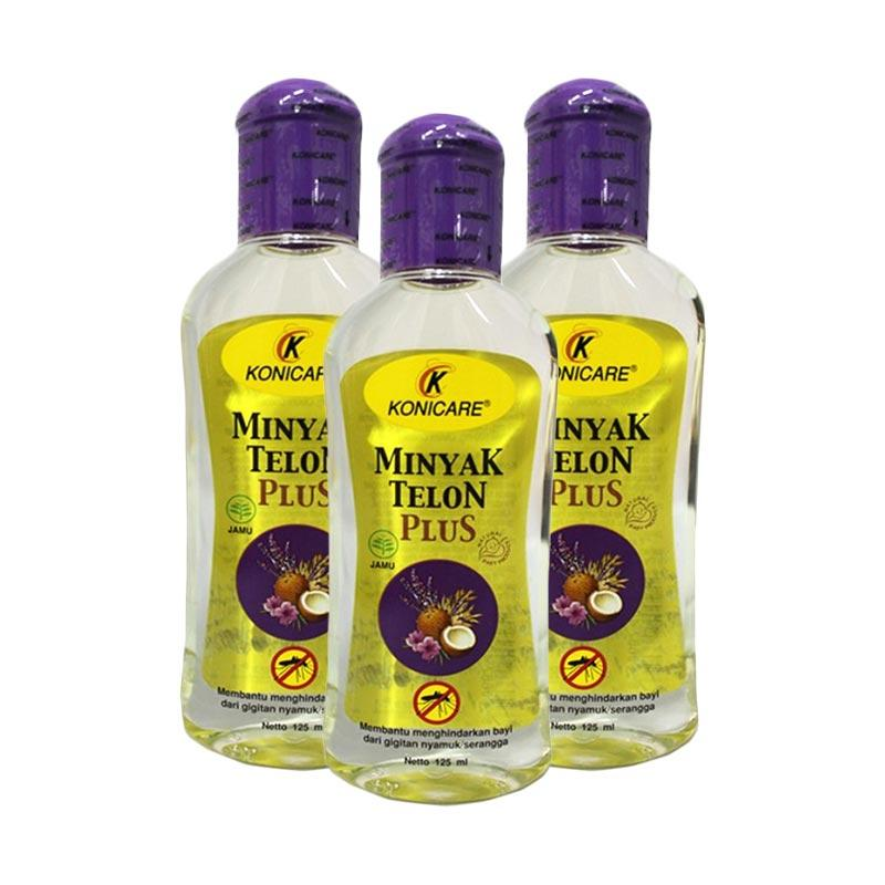 Konicare Minyak Telon Plus [125 mL/3pcs]