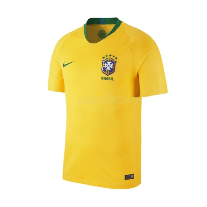 NIKE Men Football World Cup 2018 Brazil Stadium Home Jersey Sepakbola Pria