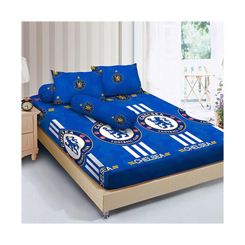 Kintakun D'luxe B2 The Blues Set Sprei [180 x 200 cm/ Size King]