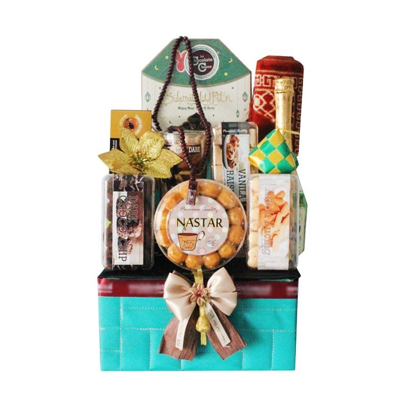 Parcel Lebaran La Chocolate Cheese Cookies Hamper Medium