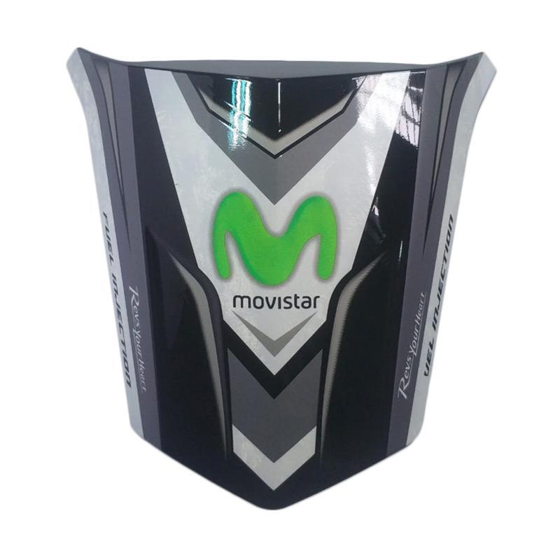 harga Nemo Movistar Sticker Single Seat for Yamaha Vixion 2013 - Hitam Blibli.com