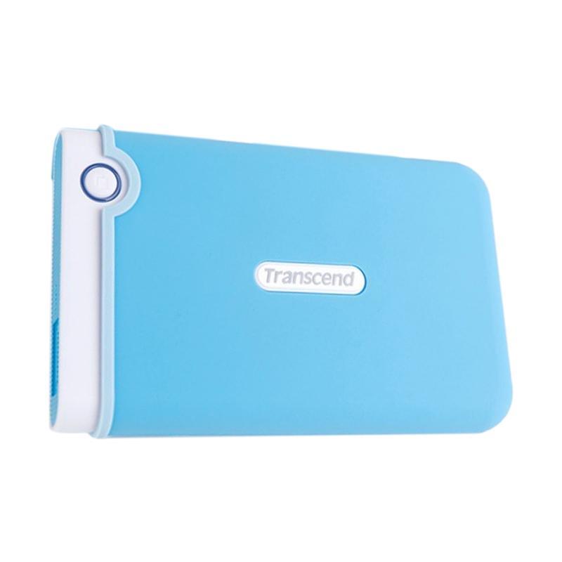 harga Transcend Storejet 25M3 Hard Disk Eksternal - Biru Muda [1 TB] Blibli.com