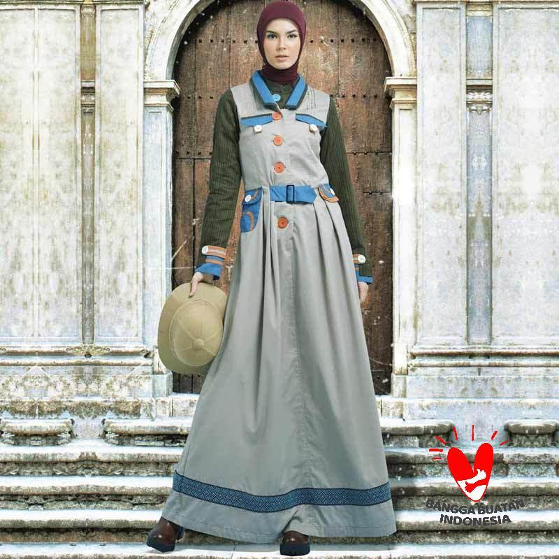 Tuneeca Potret Ningrat T 0319006 Dress Muslimah