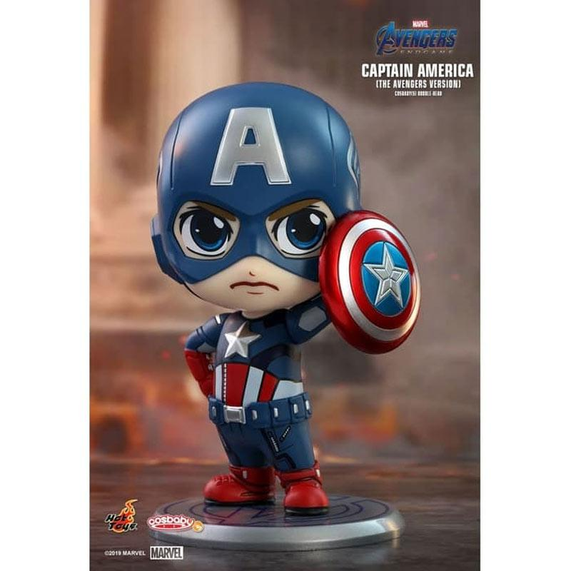 Jual Hot Toys Cosbaby Avengers 4 Endgame Captain America With Shield Online Desember 2020 Blibli