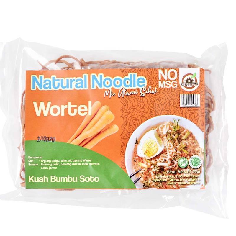 House of organix Kuah Bumbu Soto Wortel Natural Noodle Alami Sehat Mie Instan