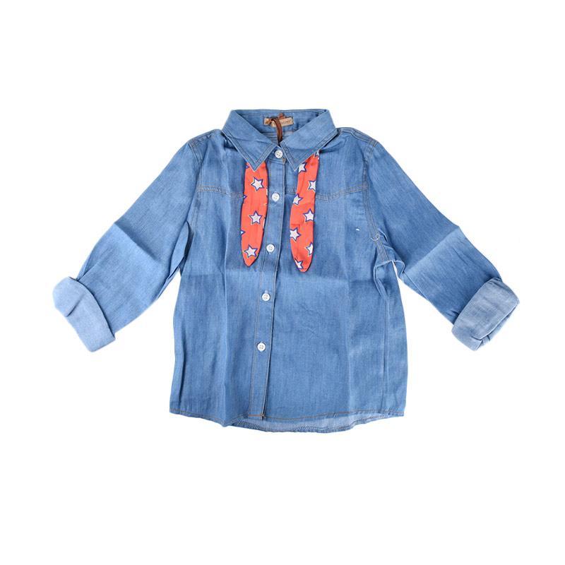 Cabriole 095 Adel & Audrey Top Shirt - Blue
