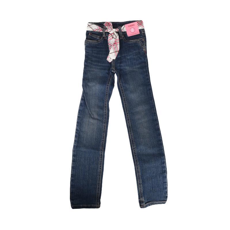 Cabriole 104- Adel & Audrey Pants Blue Jeans Anak
